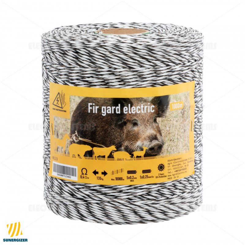 Fir gard electric - 1000 m - 130 kg - 0,4 Ω/m - GARD ELECTRIC