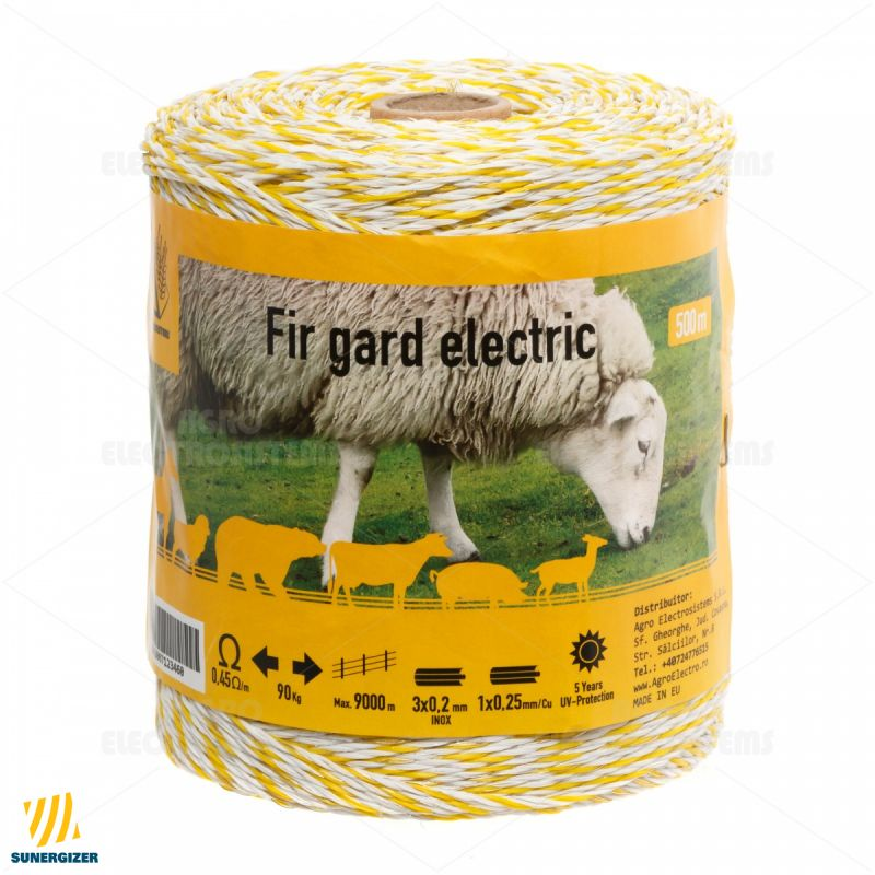 Fir gard electric - 500 m - 90 kg - 0,45 Ω/m - GARD ELECTRIC