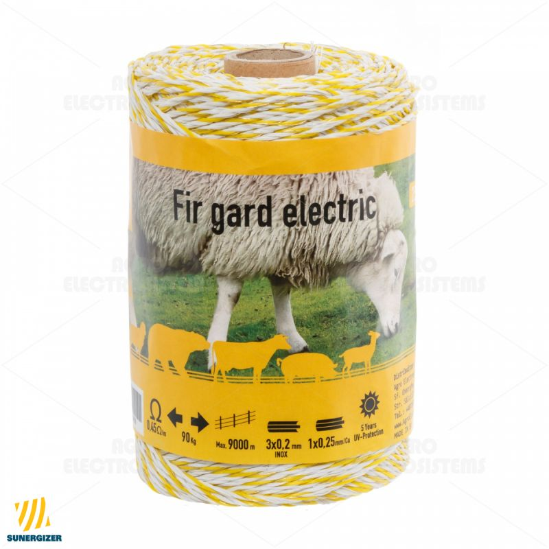 Fir gard electric - 250 m - 90 kg - 0,45 Ω/m - GARD ELECTRIC
